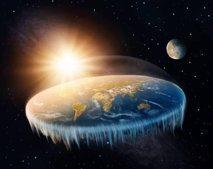 flat earth, evidence