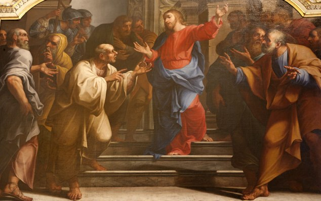 Jesus, argue, reason