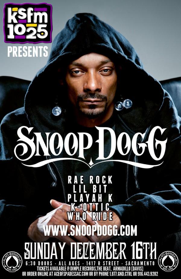 Snoop Dogg Northern California Shows Viva La Hip Hop