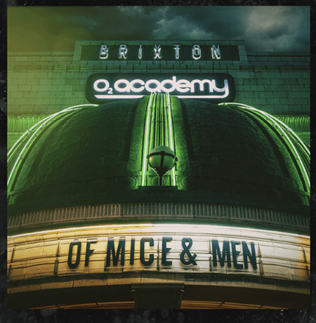 Live At Brixton CD/DVD - Cover Art