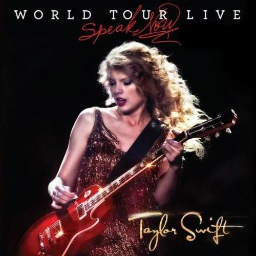 Portada de l'àlbum de Taylor Swift Speak Now World Tour