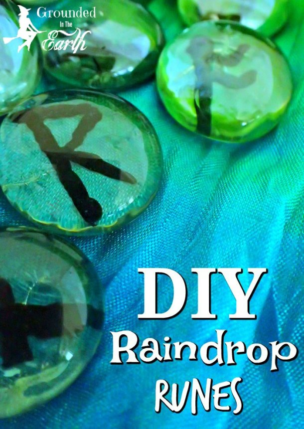 DIY glass runes