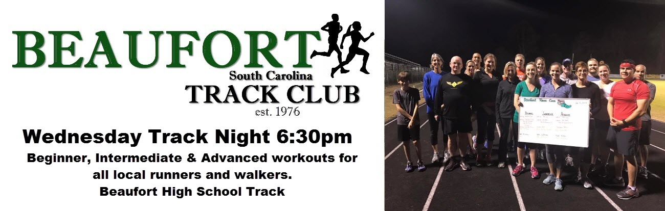 Beaufort Running Club Wednesday Night Group Run