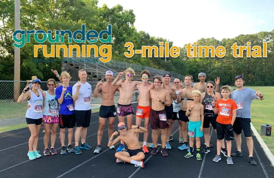 Grounded Running 3-mile Time trial