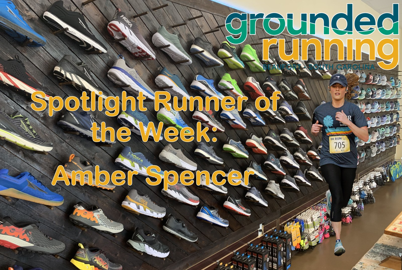 Amber Spencer - Featured Runner of the Week Grounded Running