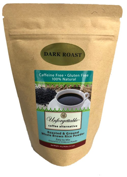 """Unforgettable"" Roasted Brown Rice Coffee - 24 cups"