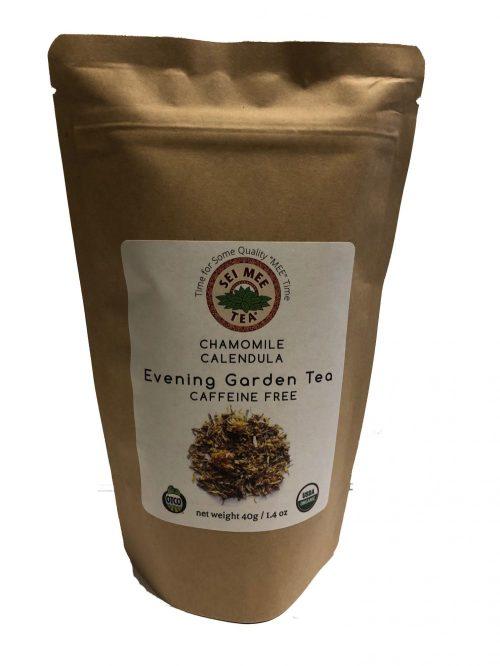 Loose leaf chamomile blend tea front