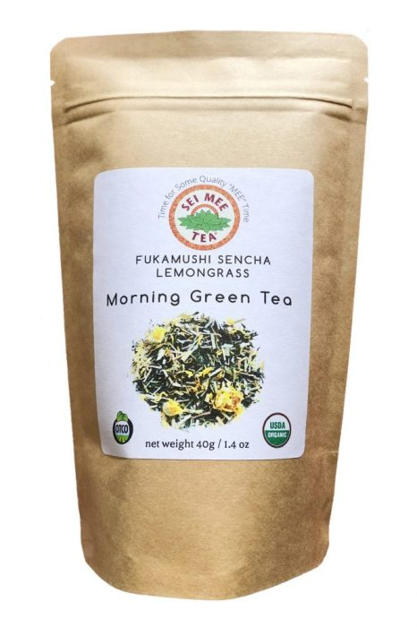Fukamushi Sencha Lemongrass Loose Leaf Tea