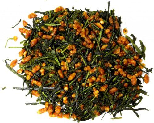 Organic Genmaicha tea