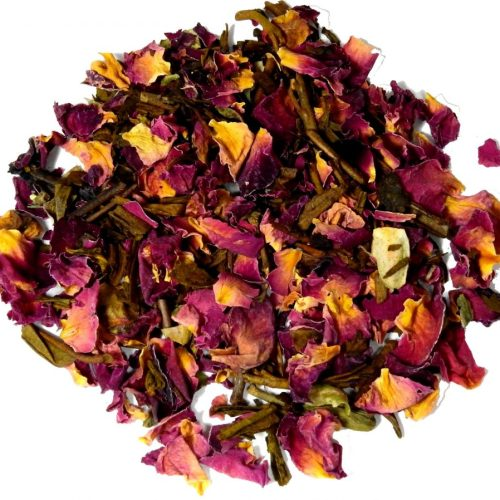 Hojicha Red Rose Tea