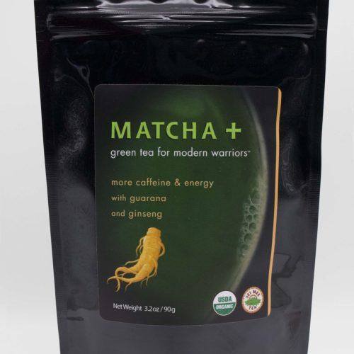 Matcha Plus Ginseng and Guarana 90g Front