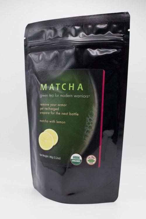 Matcha Lemon Side