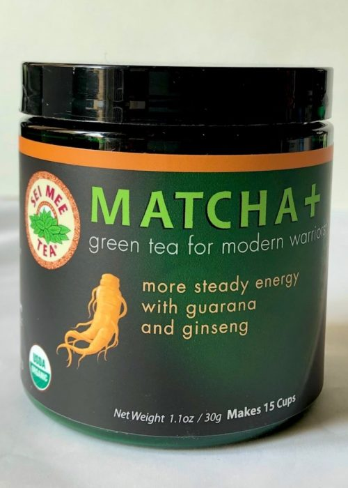 Matcha with ginseng and guarana - 30g