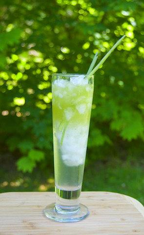 lemongrass iced green tea