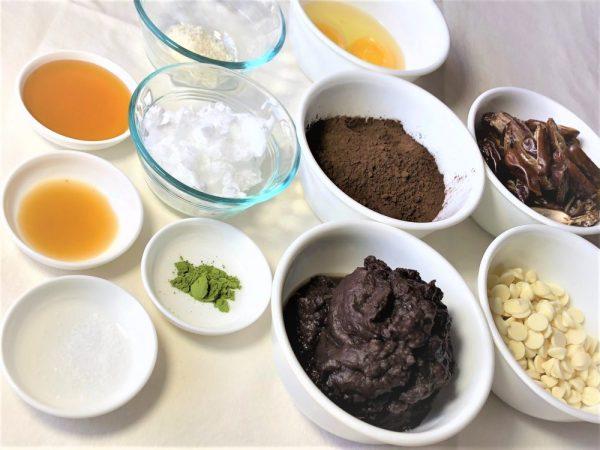 adzuki truffles ingredients