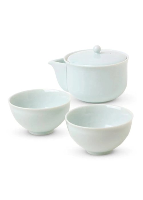 Celadon Glaze Japanese Tea Set