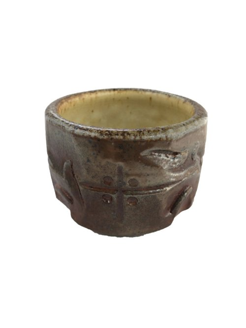 handcrafted tea bowl mocha