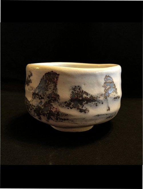 Japanese matcha tea bowl