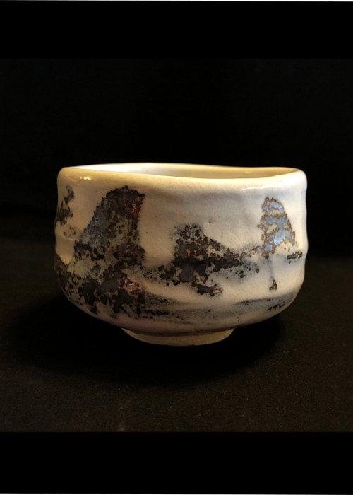 Japanese matcha bowl (Sumi)