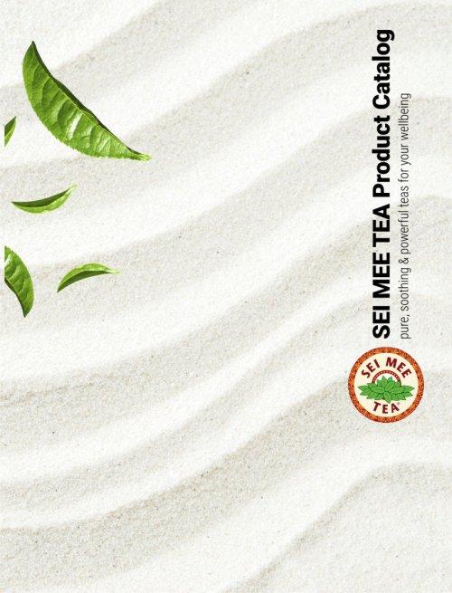 SEI MEE TEA catalog cover