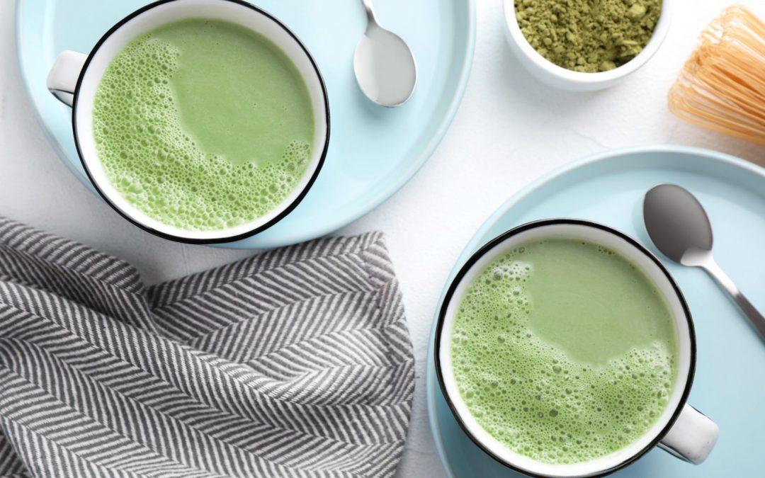 Milk and Green Tea