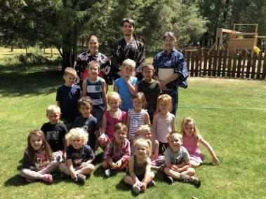 Tea Ceremony for Montessori School 3