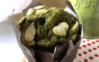 Gluten Free Keto Friendly Matcha Muffin