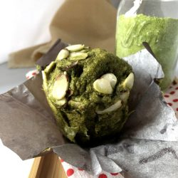 gluten free keto friendly matcha muffin mix