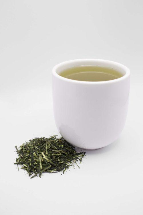 Cup of Karigane Tea