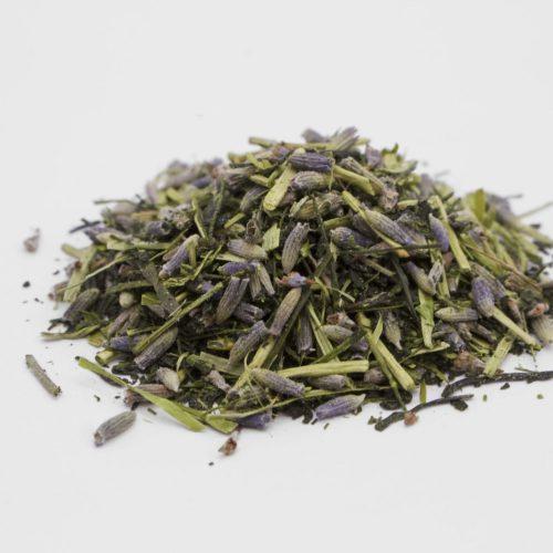 Kukicha Lavender Sweet Green Tea Leaves