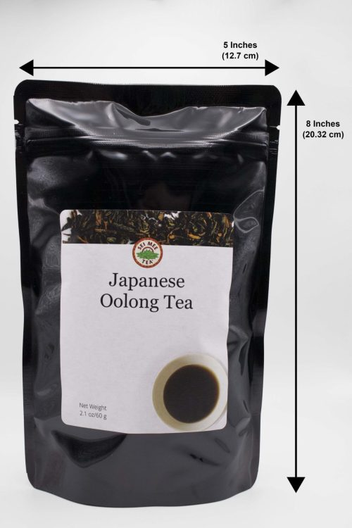 Japanese Oolong Tea Pouch Dimensions