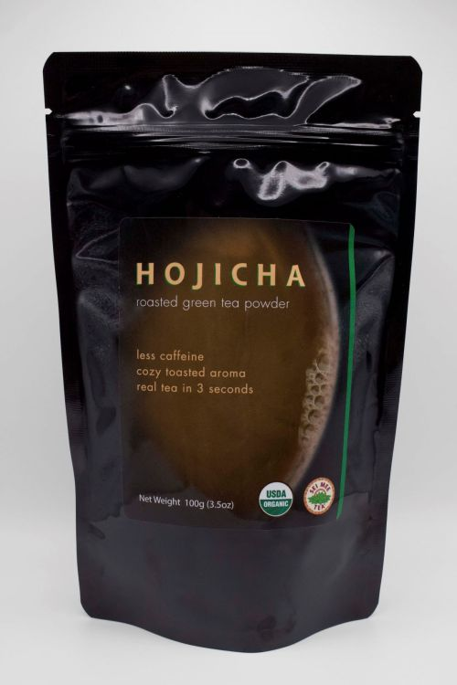 Hojicha 100g Pouch front view