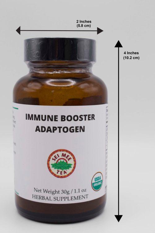 Immune Booster Jar dimensions