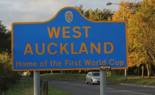 Approaching West Auckland.