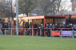 The main stand at North Shields Daren Persson ground.