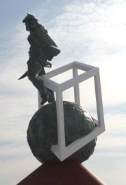 Spartacus, symbol of the Spartak club.