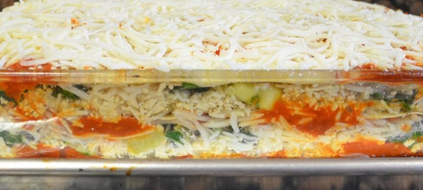 Veggie Lasagna With Tofu Ricotta