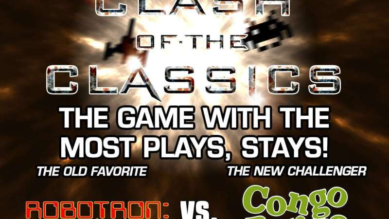 Image for Clash of the Classics – Robotron: 2084 VS. Congo Bongo
