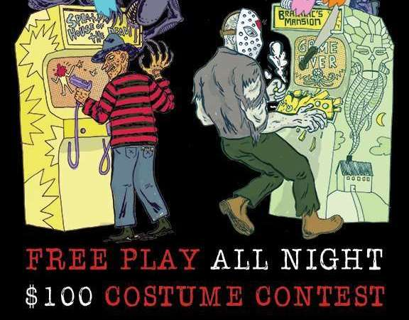 Image for Giga-Fright: Halloween Free Play Party & Costume Contest! Wednesday 10/28, 5pm