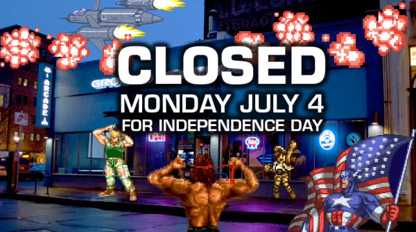 CLOSED Independence Day - Monday 7/4