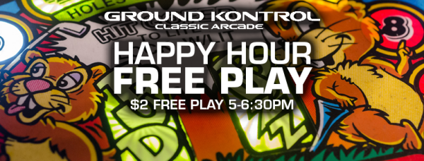 Happy Hour Free Play - Thursday 6/23