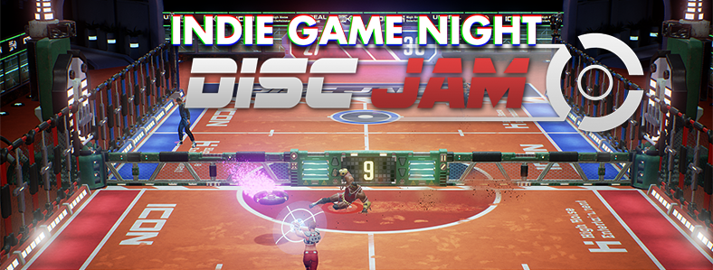 Image for Indie Game Night: Disc Jam – Thursday 3/30, 7pm