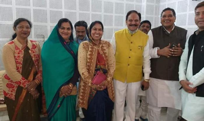 loksabha election 2019 sehore leader ex mla ramesh saxena and urmila maretha joins congress, cm kamalnath pcc bhopal