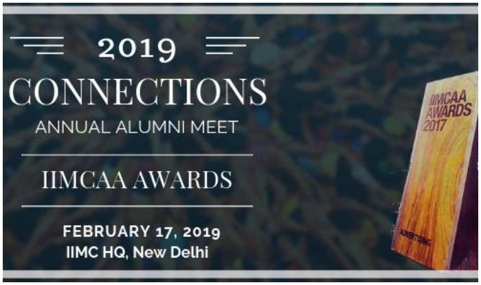 IIMCAA Award 2019, IIMC alumni association, IIMCAA Alumni meet, indian institute of mass communication, IIMC