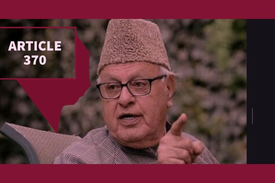 """""""कश्मीर गांधी के भारत में शामिल हुआ था, न कि मोदी के भारत में।"""""""