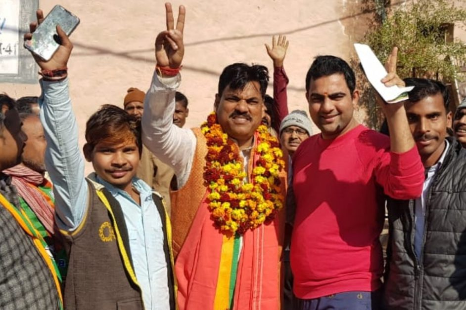 Delhi Elecitons 2020 : Vikaspuri consituency BJP Candidate Sanjay Singh in 10 point