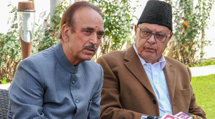 Ghulam Nabi Azad To Meet Farooq Abdullah