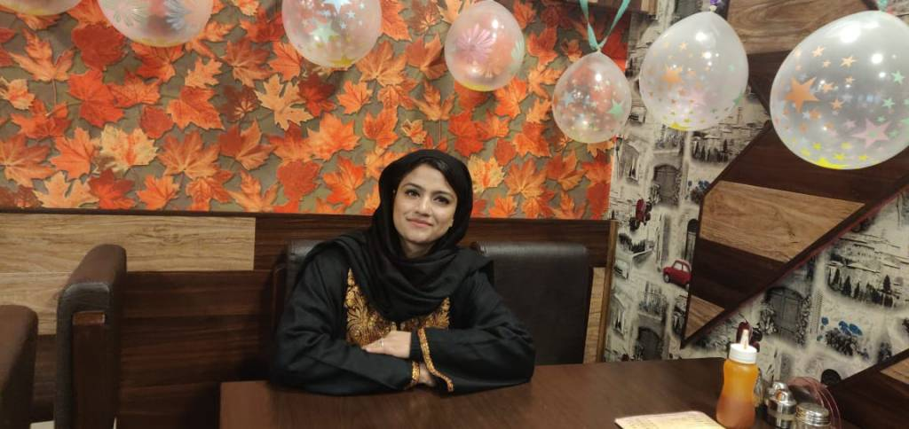 Mehvish Zarger woman entrepreneur Kashmir