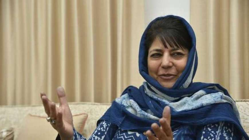 "'House arrest as usual': ""There is rule of repression and terror in Kashmir"" Says Mehbooba Mufti"