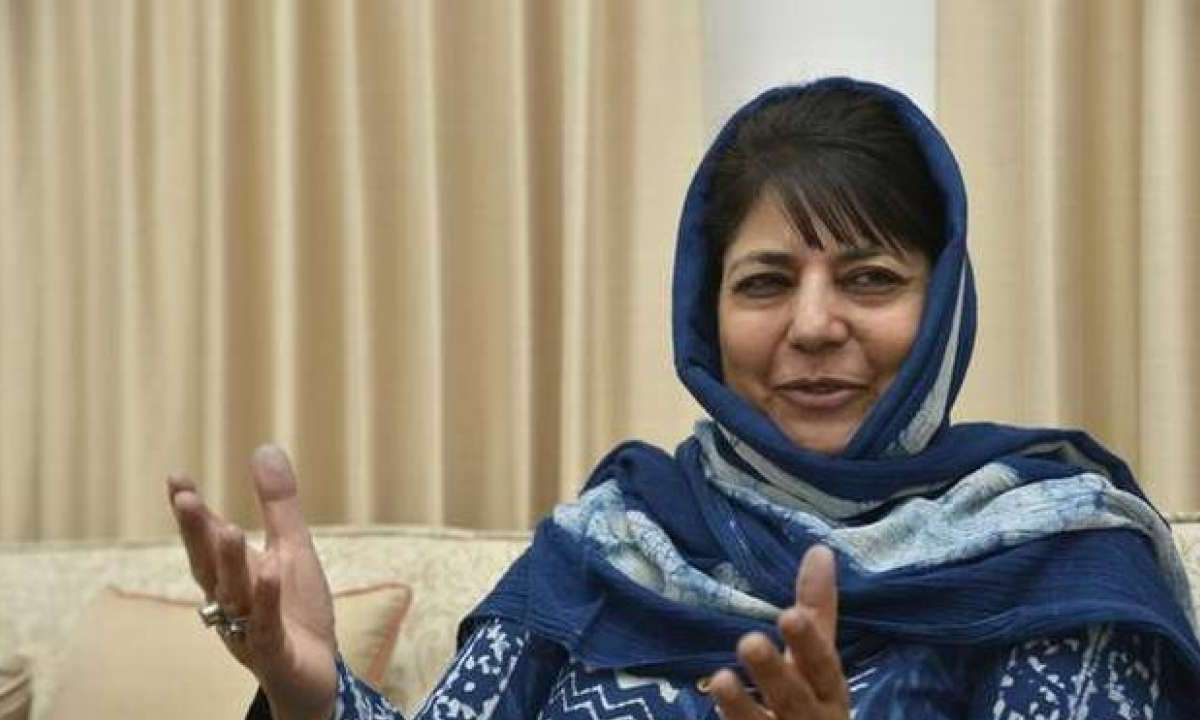'Will only hoist tricolor if  flag of J&K reinstated': Mehbooba Mufti